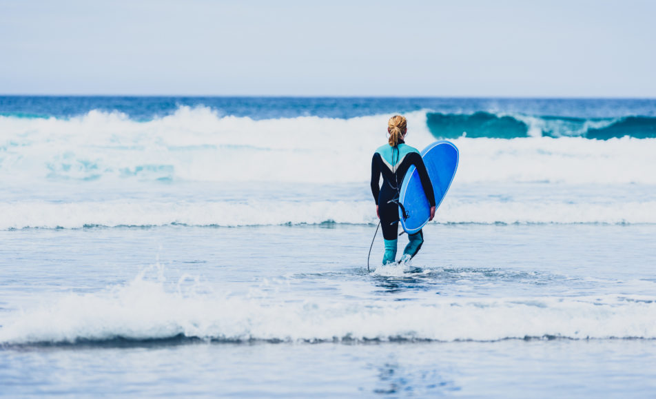 Women's Improver Surf Session in Gower