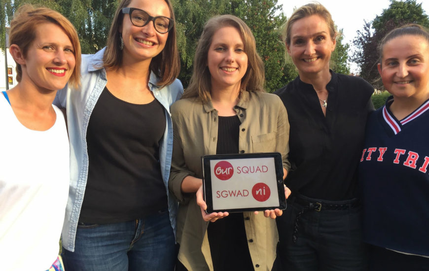 "Letzshare took part in OurSquad Podcast: ""Why do Women Abstain from Sport?"""
