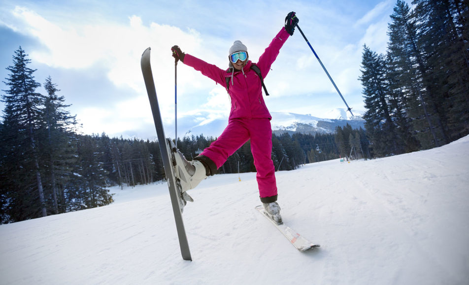 Women's Beginner Skiing Session