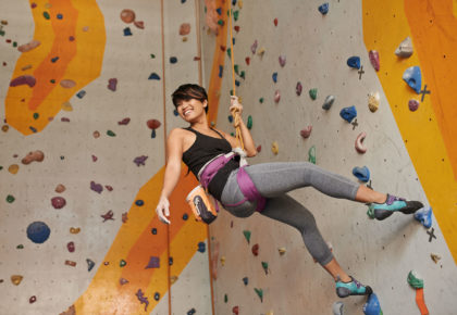 Female Climbers on the rise. We are proud to be helping out!