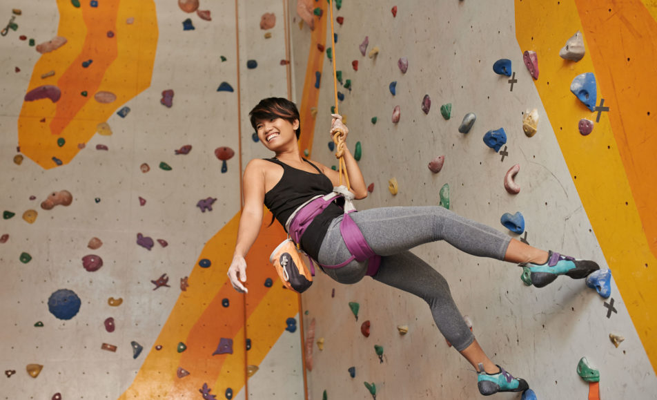 Women's Indoor Climbing Trial Session