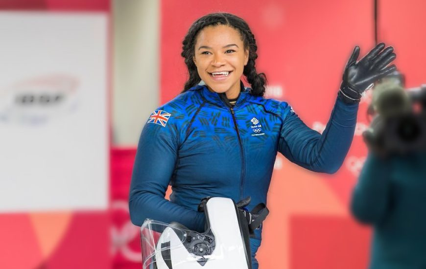 """DON'T GIVE UP & ALWAYS REMEMBER THE END GOAL!"" Read what Mica Moore, Boblseigh Olympian and Commonwealth Athlete had to tell us"