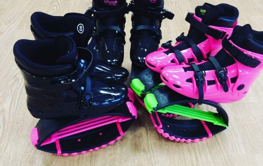 Women's bouncing fitness class boots. Letzshare is running a women's bouncing fitness class in Gower, Swansea