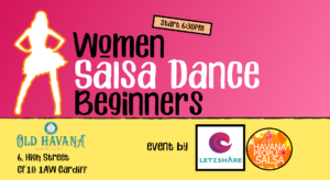 Women Salsa Dancing in Cardiff for Beginners