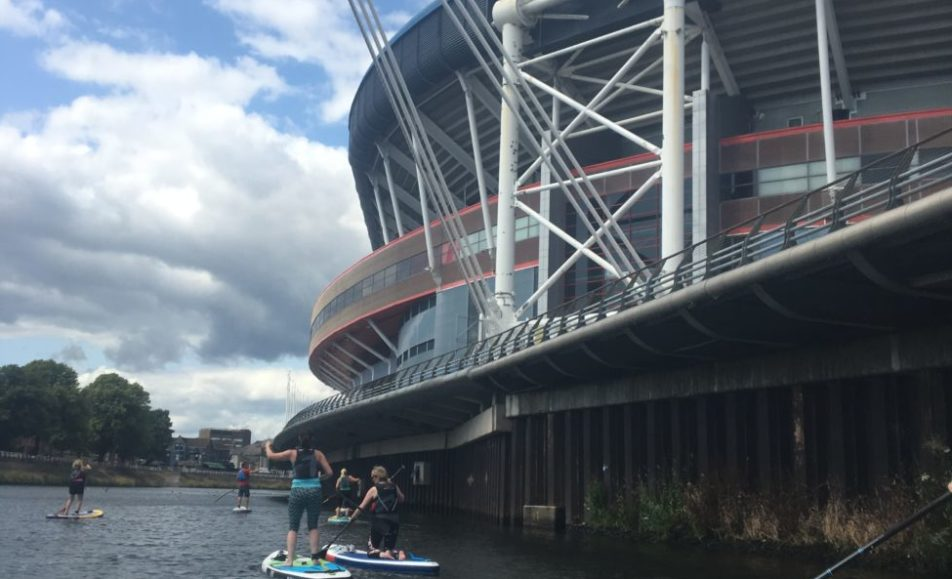 Women's Improver Stand Up Paddle Boarding Session