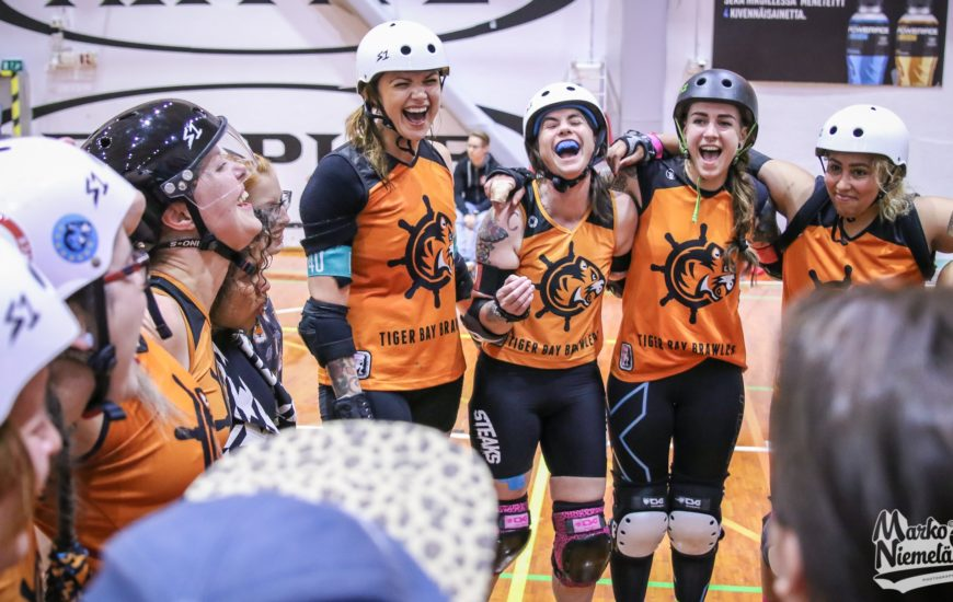 Roller derby, and the community that surrounds it, is one of the most supportive and uplifting environments I've ever been a part of.